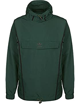 adidas Taped Anorak, Hombre, Verde (Vernoc), L