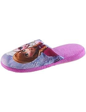SAMs Pantoffel Hausschuhe Frozen Disney Die Eiskönigin Kinder Pantoffel Slipper Schlappen Puschen 27-38, TH-FROZEN-PALI