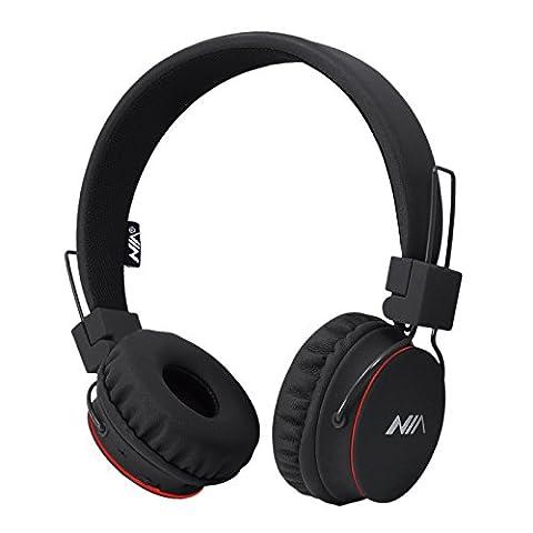 Bluetooth Kopfhörer Headset Rymemo Faltbar Stereo Über-ohr Kabellos Erwachsene Kind