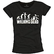 Camiseta Amazon Dead Walking Mujer esThe Negro cKJT3uFl1