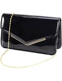 Enveloppe Pochette Embrayage sac à main epaule chaîne Soiree Clutch Bag