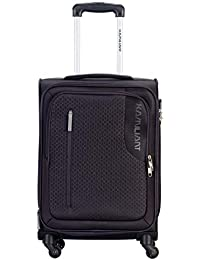 Kamiliant by American Tourister Kam Kojo Polyester 56.5 cms Grey Softsided Cabin Luggage (KAM KOJO SP 56.5 cm - Grey)