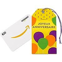 Carte cadeau Amazon.fr dans une petite enveloppe - Livraison gratuite en 1 jour ouvré