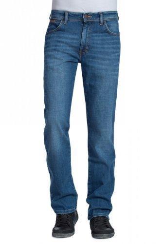 Wrangler Jeans Texas Stretch Regular Fit - Worn a brisé (37 X), 38W / 30L