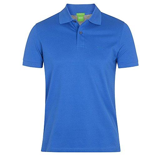 BOSS Green Herren Poloshirt blau blau Blau