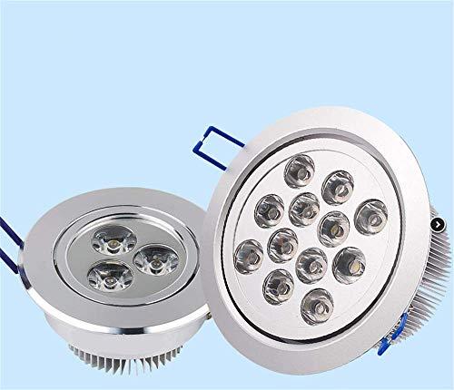 Recessed spotlight hotel ceiling light led ceiling light jewelry lighting spotlight hotel ceiling light 3w embedded led ceiling light 155 * 155mm,9W