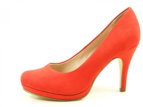 Tamaris Damen 22407 Pumps Rot