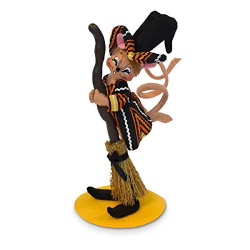Annalee Besen, Hexenmaus, 15,2 cm (Dolls Halloween Annalee)