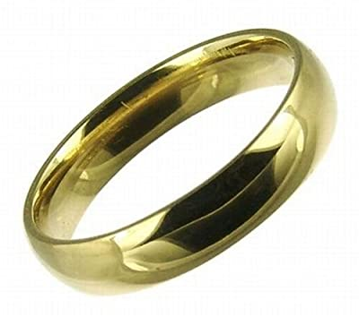 Kareco 18ct Yellow Gold 4mm Light Court Wedding Ring