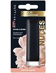 Gemey Maybelline New York Rouge à Lèvres Fini Mat Color Sensational Mattes Nudes 987 Rose