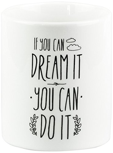 Mr. Wonderful - Taza con mensaje If you can dream it you can do it