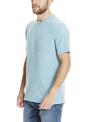 Bench Herren T-Shirt Tee with Pocket Grün (Mid Teal BL146)