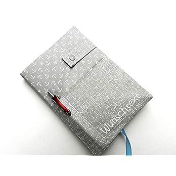 Kalender 2021 Logbuch A5 Taschenkalender Buchkalender mit Kugelschreiber und Wunschtext