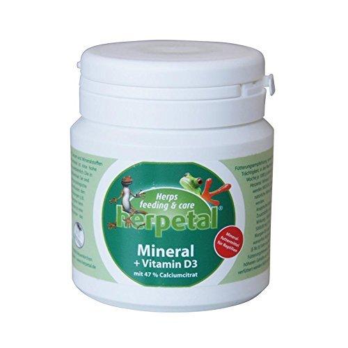 Herpetal Mineral + Vitamin D3, 100 g
