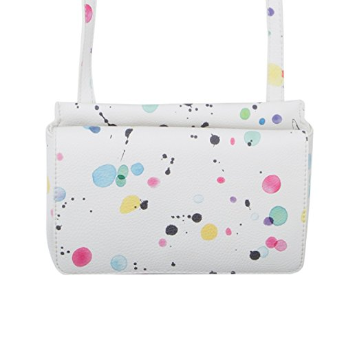 Borsa Desigual Splatter New Dallas Bianco