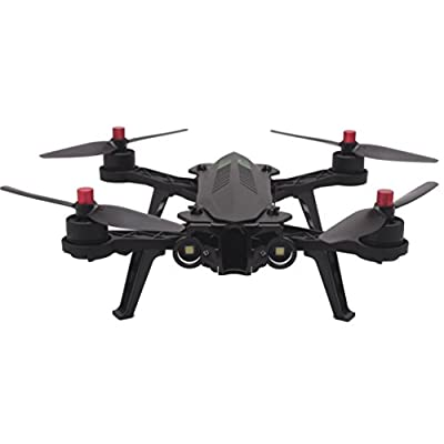 MJX Bugs 6 Racing Drone RTF High/Low Speed Mode Brushless Motors 2.4G 4CH 3D Flip 250mm Wheelbase 6-Axis 4 Channels 1300 mAh 12 Minutes Flight with LED Night light from TianranRT