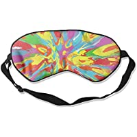 Colorful Pattern Paint Sleep Eyes Masks - Comfortable Sleeping Mask Eye Cover For Travelling Night Noon Nap Mediation... preisvergleich bei billige-tabletten.eu