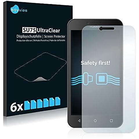 6x Protector Pantalla para Huawei Y5Protector Transparente
