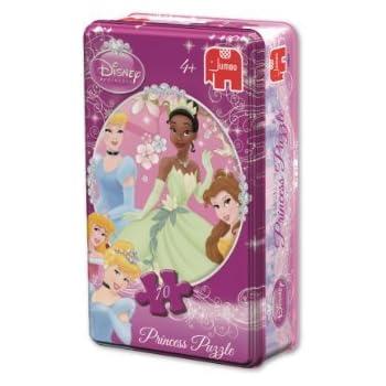 Disney Princess 70 Piece Jigsaw Puzzle in a Tin