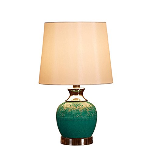 lofami-creative-warm-bedroom-bedside-lamp-green-ceramic-lamp-modern-simple-european-pastoral-fabric-