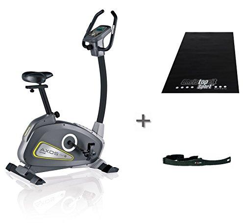 Kettler Axos Ergometer Fitnessbike Cycle P mit Brustgurt und Matte, 821