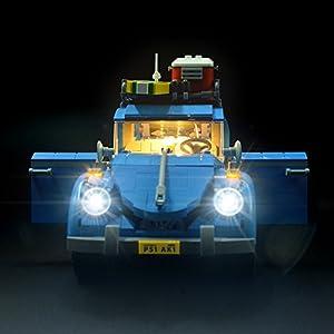 LIGHTAILING Set di Luci per (Maggiolino Volkswagen) Modello da Costruire - Kit Luce LED Compatibile con Lego 10252 (Non… 0753318440012 LEGO