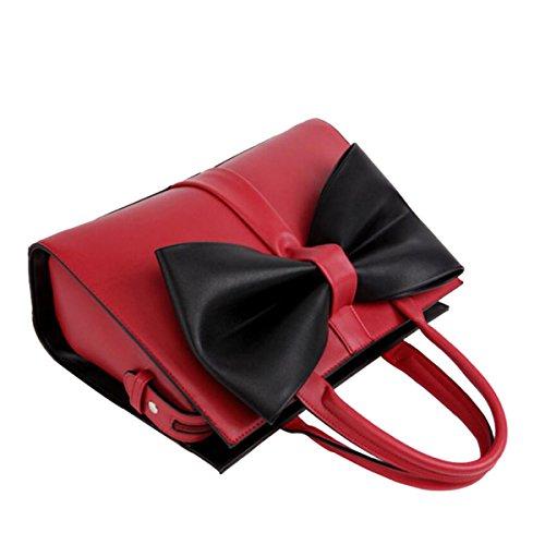 Diagonalbeutel Querbinder Schulter B PU Handtaschen Frauen F4YwzxqaR8