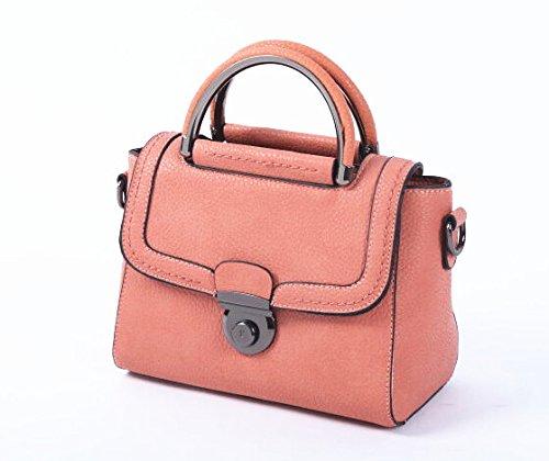 Mefly Single Shoulder Bag Fashion All-Match Mini Bag Orange