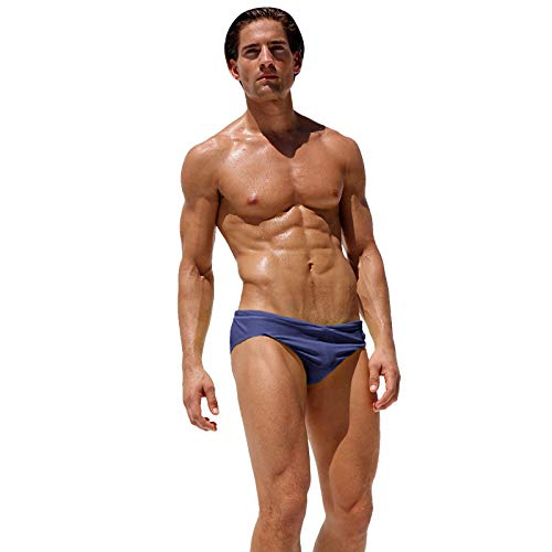 ad5dd17c7e ShopSquare64 AQUX-54 Fashion Men Sexy Low Waist Tight Beach Swimwear  Swimming Trunks Swimsuit Briefs