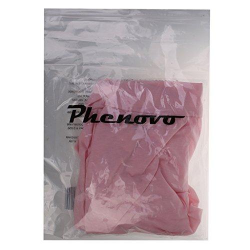 Sharplace Donne Maglie a Manica Lunga Camicetta T-shirt Top Camicia Abbigliamento Rosa