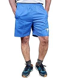 HPS Sports Shorts For Men, Boxer Short For Mens, Half Pants Man Boys, Regular Fit Dobby Cotton Royal Blue Shorts...