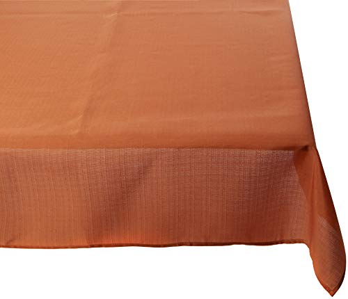 Select Tablecloth Tischdecke Polyester Burnt orange 135 x 135 x 0.2 cm