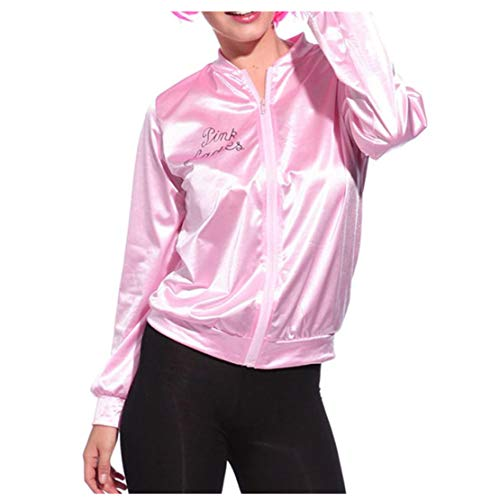 Feitong Frauen-Rosa-Dame Sweetie Jacket Hen Party-Halloween-Tanz-Kostüm-Abendkleid(EU-44/CN-XL, Rosa)