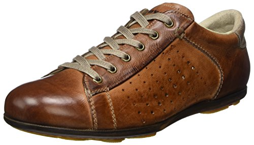 LLOYD Herren Barney Sneaker, Braun (Cognac/Sand), 44 EU