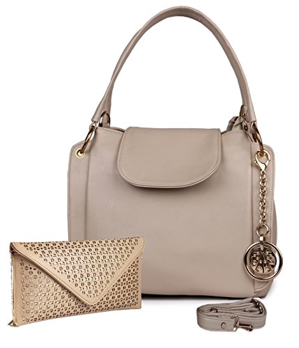 Classic Fashion Cream Color Handbag Combo for Women