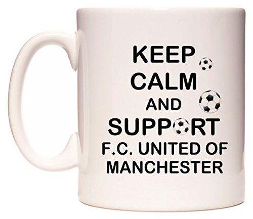 Keep Calm And Support F.C. United of Manchester Mug by WeDoMugs®