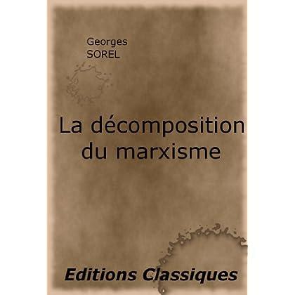 La décomposition du marxisme