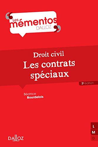 Droit civil. Les contrats spéciaux - 3e éd.