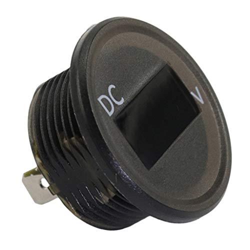 DOMYBEST Mini 0.56 pouce DC 2.5V-30V 2-Volt LCD Voltm/ètre Num/érique Tension Voltm/ètre
