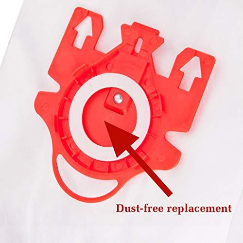 Reliapart 3D Typ FJM Hyclean Beutel & Filter Kit für Miele C1 C2 Staubsauger (5 Beutel + 2 Filter)