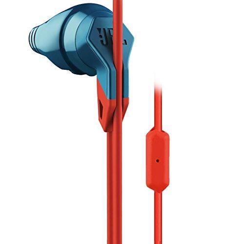 JBL Grip 200 - Intrauriculares deportivos para smartphones y tablets Android y iOS (resistentes al sudor, micrófono de botón en -línea), color