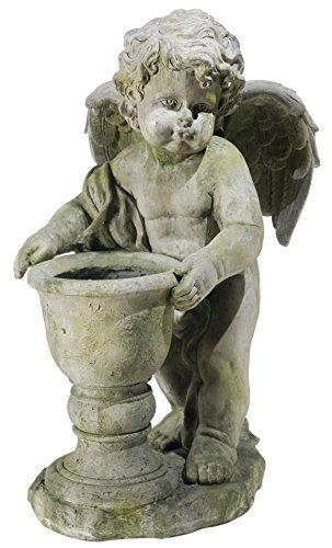 Monde Decor réfléchissant Ange Statue