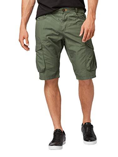 TOM TAILOR Casual Herren Cargo Shorts, Grün (Dark Thyme 10573), W(Herstellergröße: 30) Cargo-cord-hose