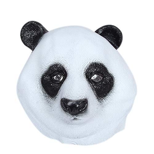 wsjwj Masken für Erwachsene Panda Kopf Maske riesigen Panda Maske Panda Kopf gesetzt niedlichen Panda Puppe Spielzeug