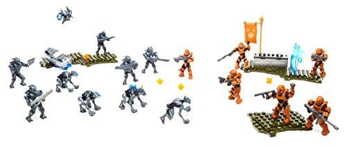 Mattel Mega Bloks Construx - DYT39 Halo Promethean Strike 16 Figuren Halo Mega Bloks Fireteam Crimson