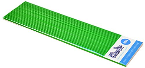 3 Doodler 62233 - Nachfüllstäbe für 3D-Stift 25 Stück aus ABS, grün