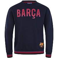 4add33ac4a FCB FC Barcelona - Sudadera Oficial para Hombre - con el Escudo del Club