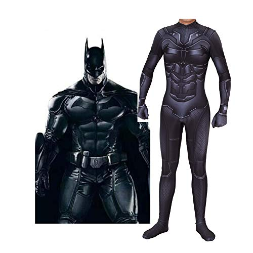 Das Ultimative Batman Kostüm - HEROMEN Batman Cosplay Strumpfhosen Elastic Bodysuit