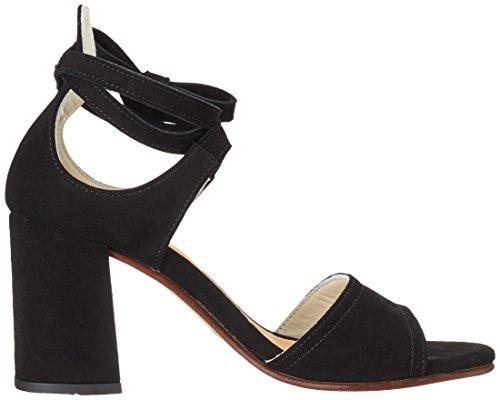 Marc O'Polo - 70214021303302 High Heel Sandal, Sandali Donna nero (nero)