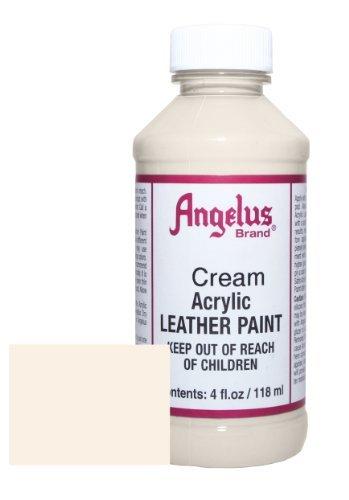 Angelus Acryl Leder Farbe - Creme, 113g -